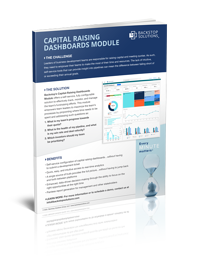 Software Fact Sheet for Capital-Raising Dashboards