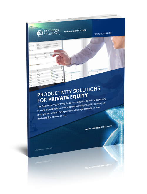 Solution Brief for Private Equity Firms
