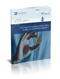 WHITE PAPER THE INSTITUTIONAL INVESTOR'S GUIDE TO CRYPTOCURRENCY