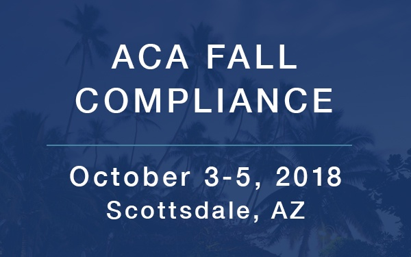 ACA Compliance Fall Conference