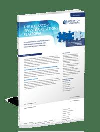 Software Data Sheet for Investor Relations