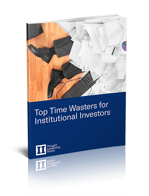 TOP TIME WASTERS FOR INSTITUTIONAL INVESTORS