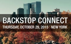 Backstop Connect NYC 2015