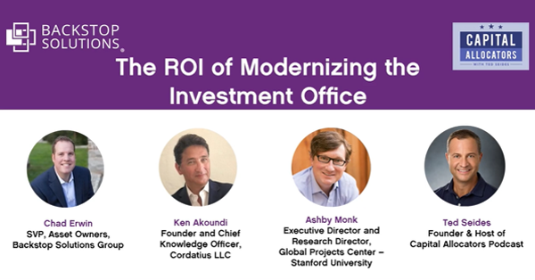 Sponsored Event Panel: The ROI of Modernizing the Investment Office