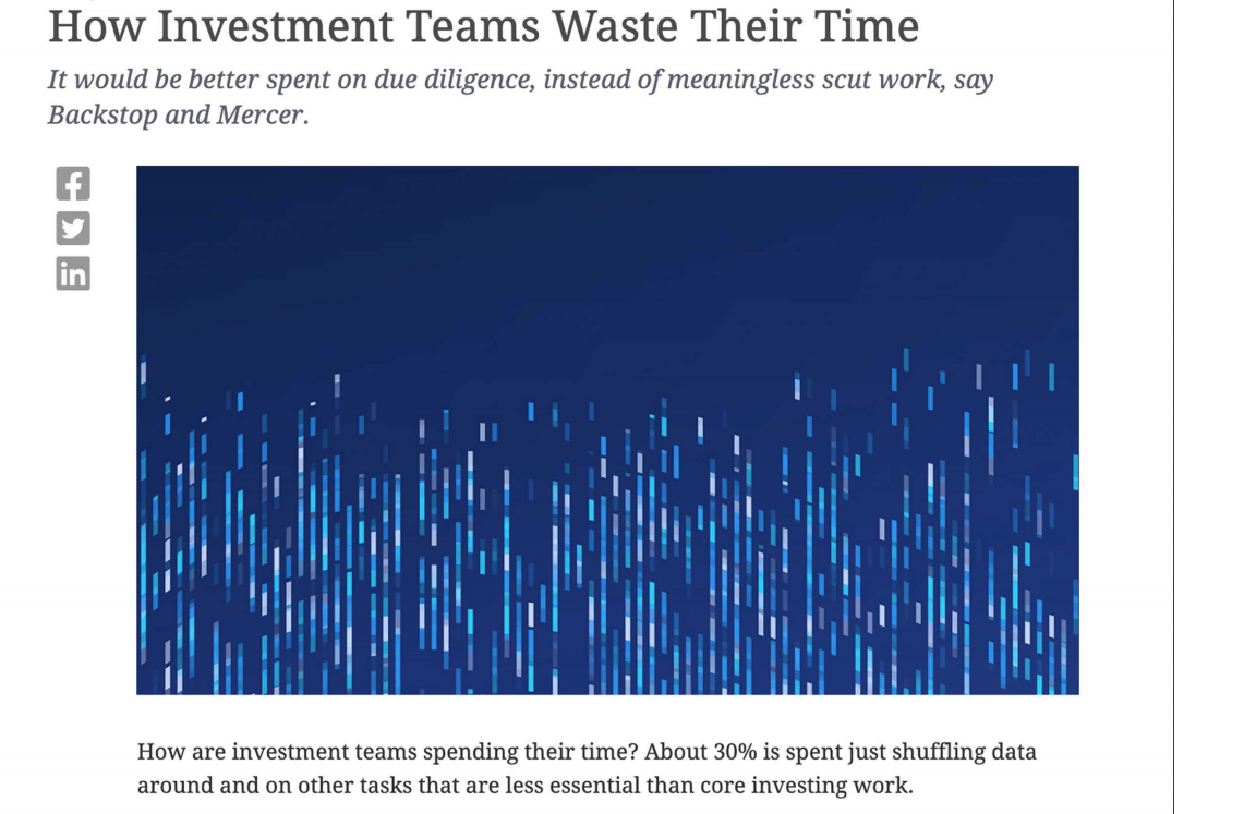 How investment teams waste their time